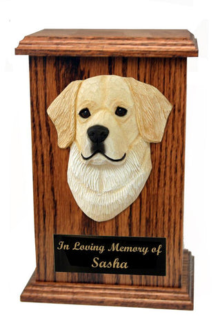 Golden Retriever Memorial Urn