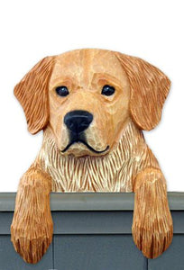Golden Retriever Door Topper