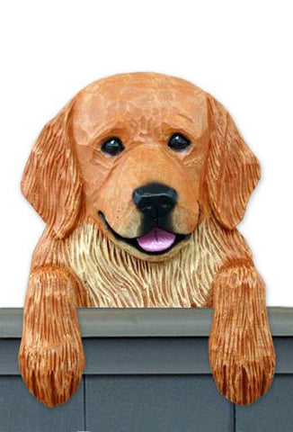 Golden Retriever Pet Door Topper