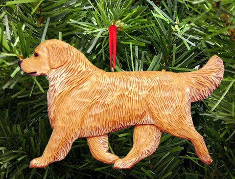 Golden Retriever DIG Ornament