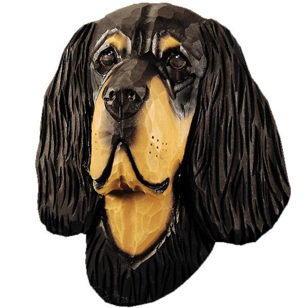 Gordon Setter Small Head Study