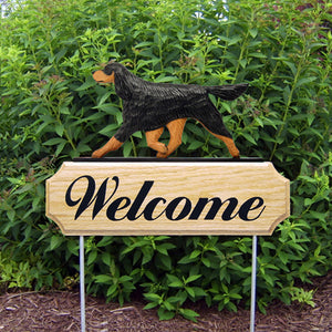 Gordon Setter DIG Welcome Stake