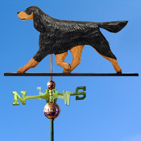 Gordon Setter Weathervane - Michael Park, Woodcarver