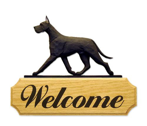 Great Dane DIG Welcome Sign