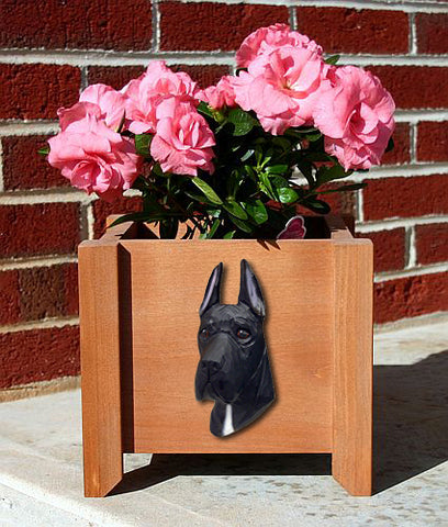 Great Dane Planter Box - Michael Park, Woodcarver