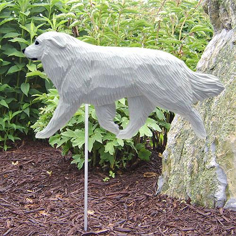 Great Pyrenees Garden Stake