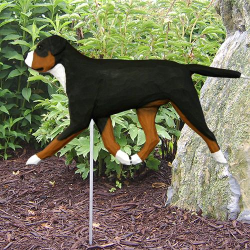 Greater Swiss Mt. Dog Garden Stake