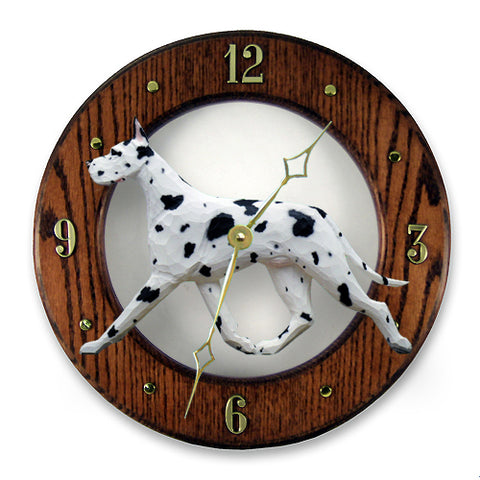 Great Dane Wall Clock - Michael Park, Woodcarver