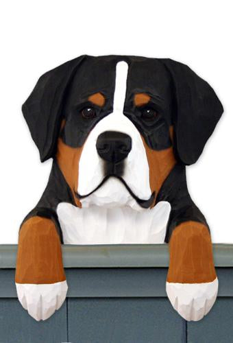 Greater Swiss Mt. Dog Door Topper