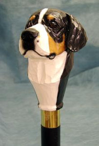 Greater Swiss Mt. Dog Walking Stick