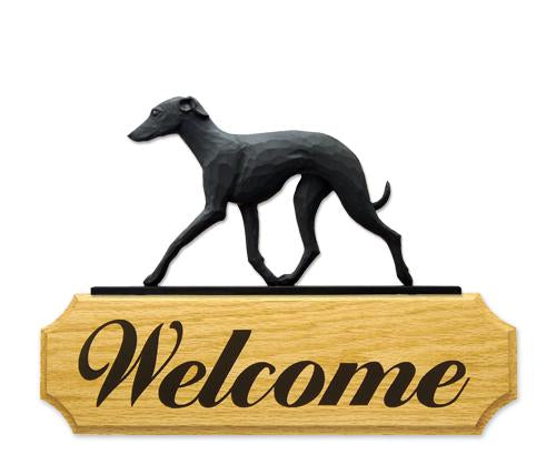 Italian Greyhound DIG Welcome Sign