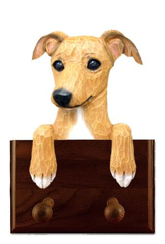 Italian Greyhound Leash Holder