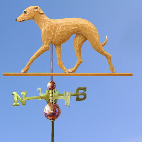 Italian Greyhound Weathervane - Michael Park, Woodcarver