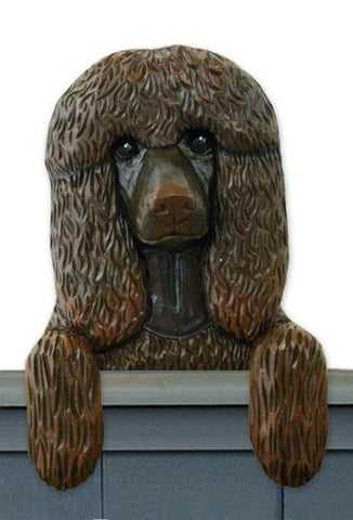 Irish Water Spaniel Door Topper