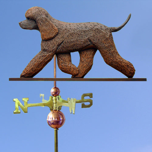 Irish Water Spaniel Weathervane - Michael Park, Woodcarver