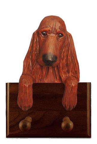 Irish Setter Leash Holder