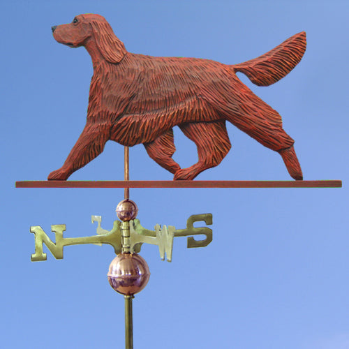 Irish Setter Weathervane - Michael Park, Woodcarver