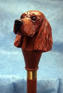 Irish Setter Walking Stick