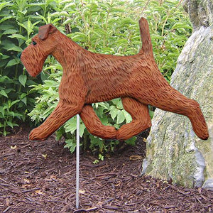 Irish Terrier Garden Stake