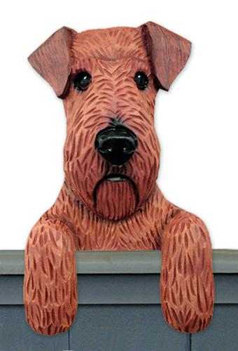 Irish Terrier Door Topper