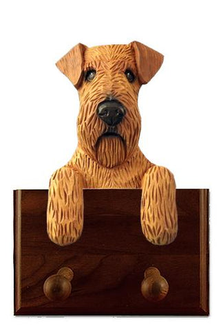 Irish Terrier Leash Holder