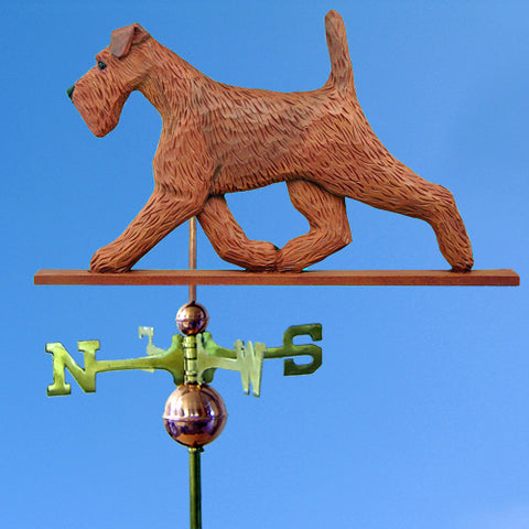 Irish Terrier Weathervane - Michael Park, Woodcarver