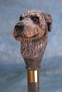 Irish Wolfhound Walking Stick
