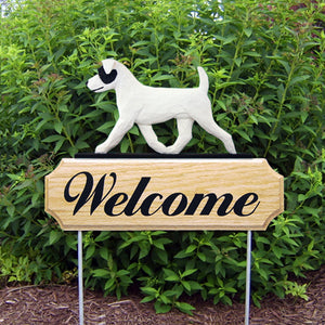 Jack Russell Terrier (rough) DIG Welcome Stake