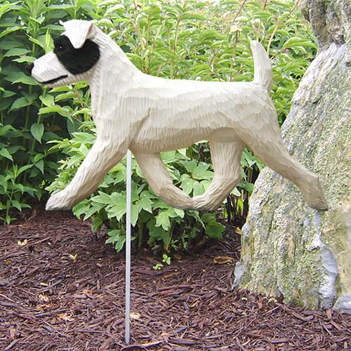 Jack Russell Terrier (rough) Garden Stake