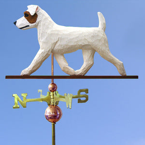 Jack Russell Terrier (Rough) Weathervane - Michael Park, Woodcarver