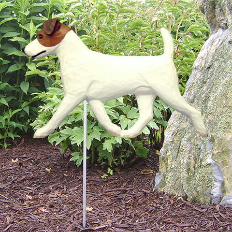 Jack Russell Terrier Garden Stake