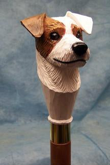 Jack Russell Rough Terrier Walking Stick