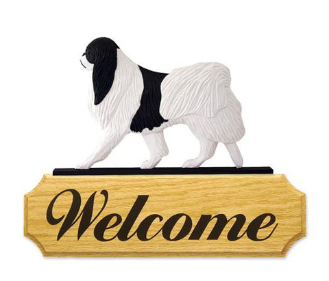 Japanese Chin DIG Welcome Sign