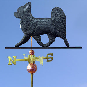Chihuahua (Longhaired) Weathervane - Michael Park, Woodcarver