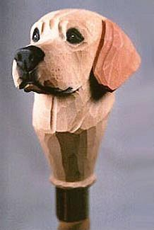 Labrador Retriever Walking Stick