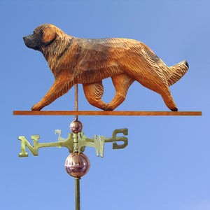 Leonberger Weathervane - Michael Park, Woodcarver