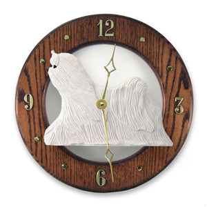 Maltese Wall Clock - Michael Park, Woodcarver