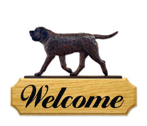 Mastiff DIG Welcome Sign