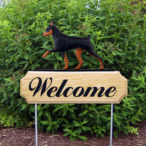 Miniature Pinscher DIG Welcome Stake