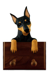 Miniature Pinscher Leash Holder