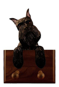 Schnauzer (miniature) Leash Holder