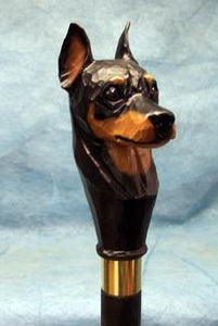 Miniature Pinscher Walking Stick