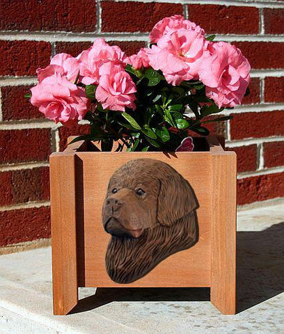 Newfoundland Planter Box - Michael Park, Woodcarver