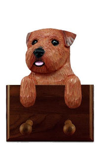 Norfolk Terrier Leash Holder