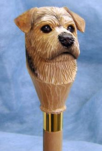 Norfolk Terrier Walking Stick