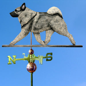 Norwegian Elkhound Weathervane - Michael Park, Woodcarver
