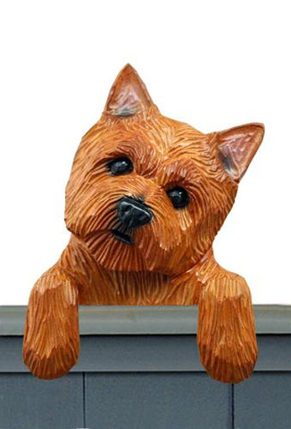Norwich Terrier Door Topper