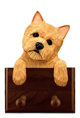 Norwich Terrier Leash Holder