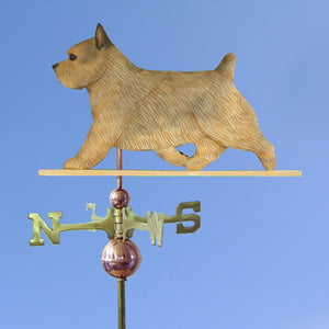 Norwich Terrier Weathervane - Michael Park, Woodcarver