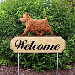 Norwich Terrier DIG Welcome Stake